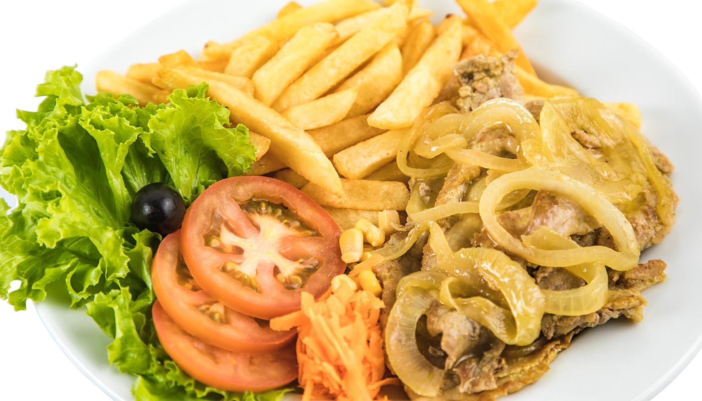 Sandwich Angola - Bifana no prato