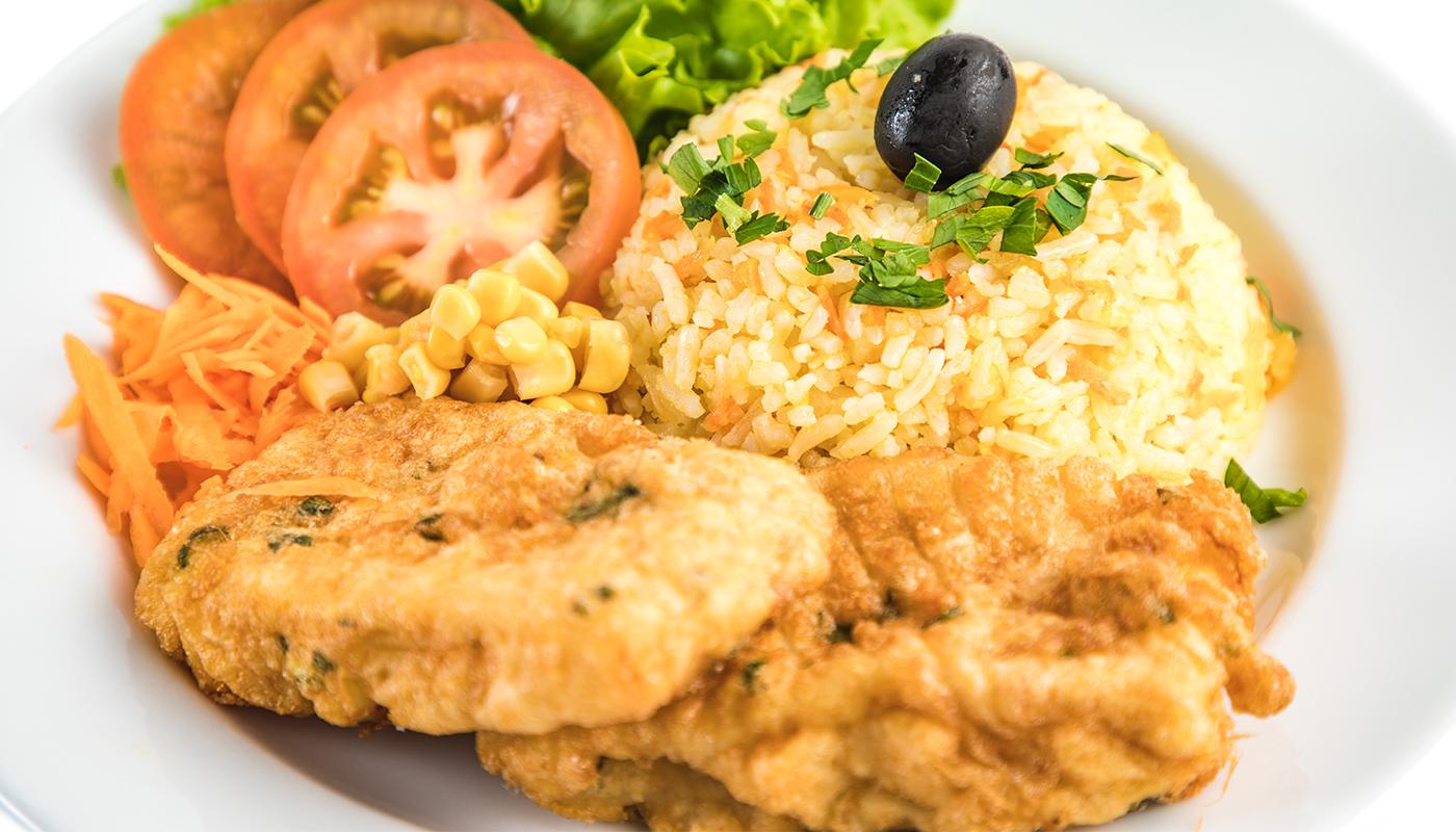 Sandwich Angola - Filete de peixe no prato