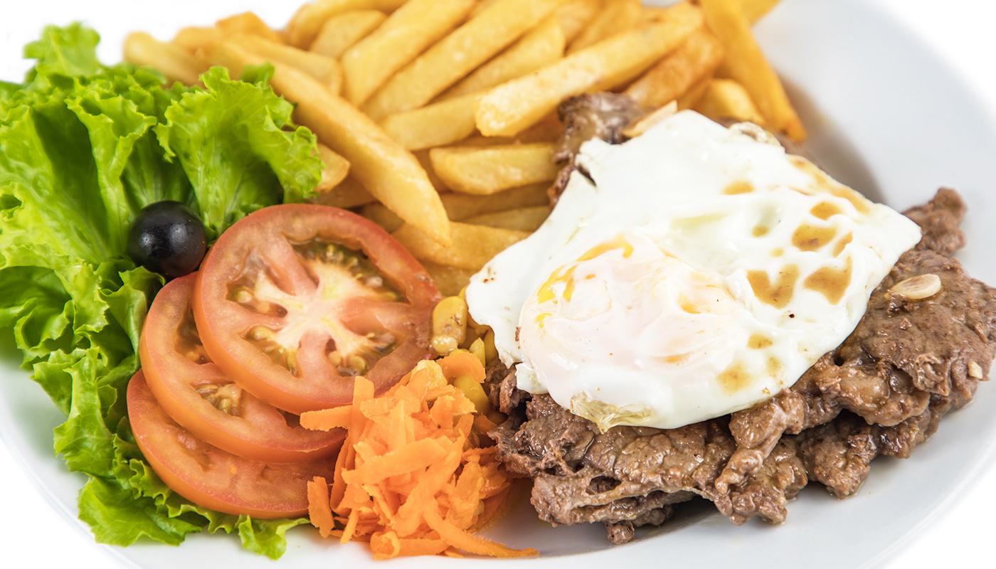 Sandwich Angola - Prego no prato