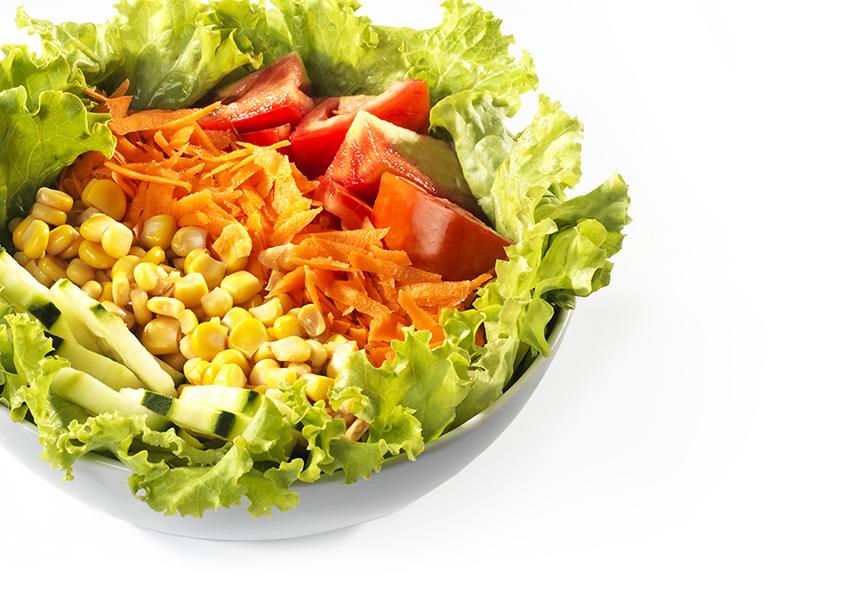 Sandwich Angola - Salada mista