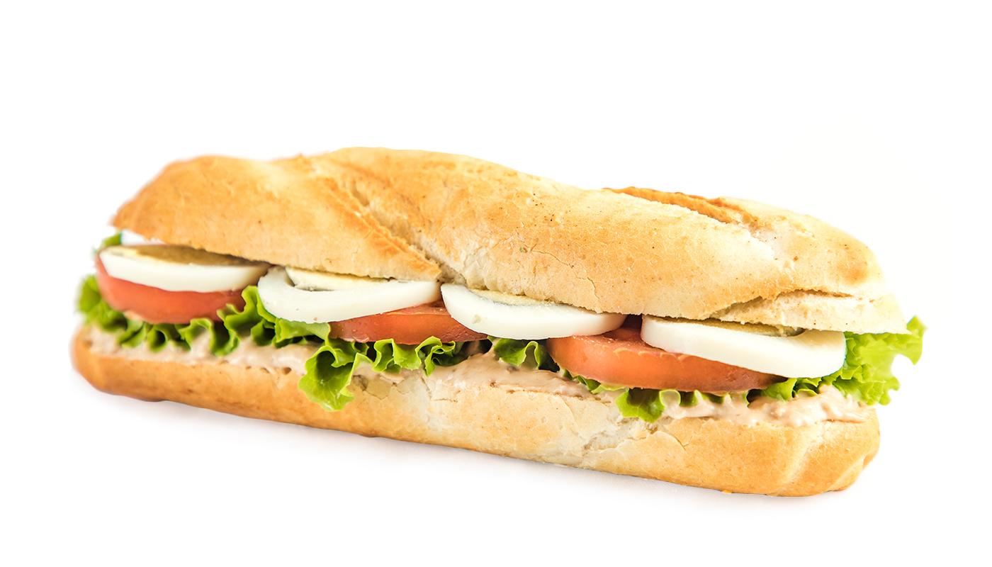 Sandwich Angola - Sandwich de atum