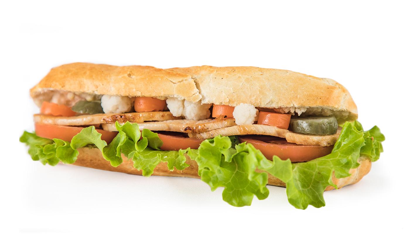 Sandwich Angola - Sandwich de carne assada