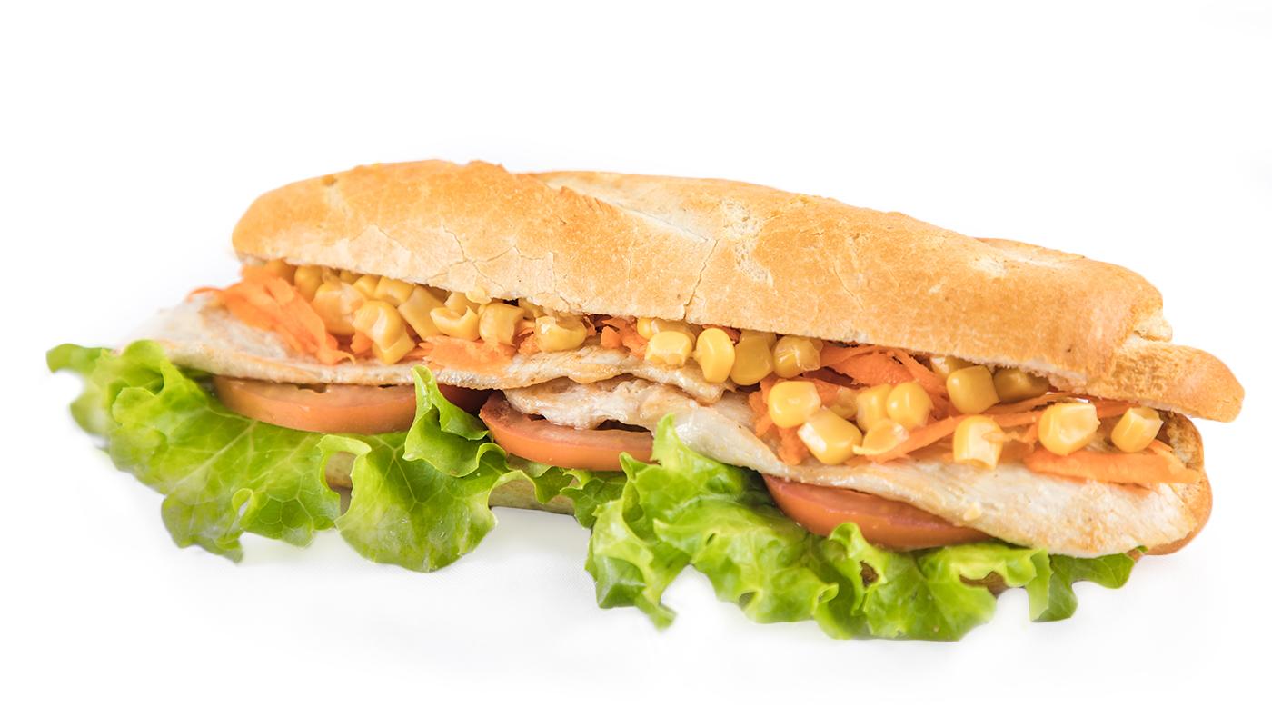 Sandwich Angola - Sandwich de frango
