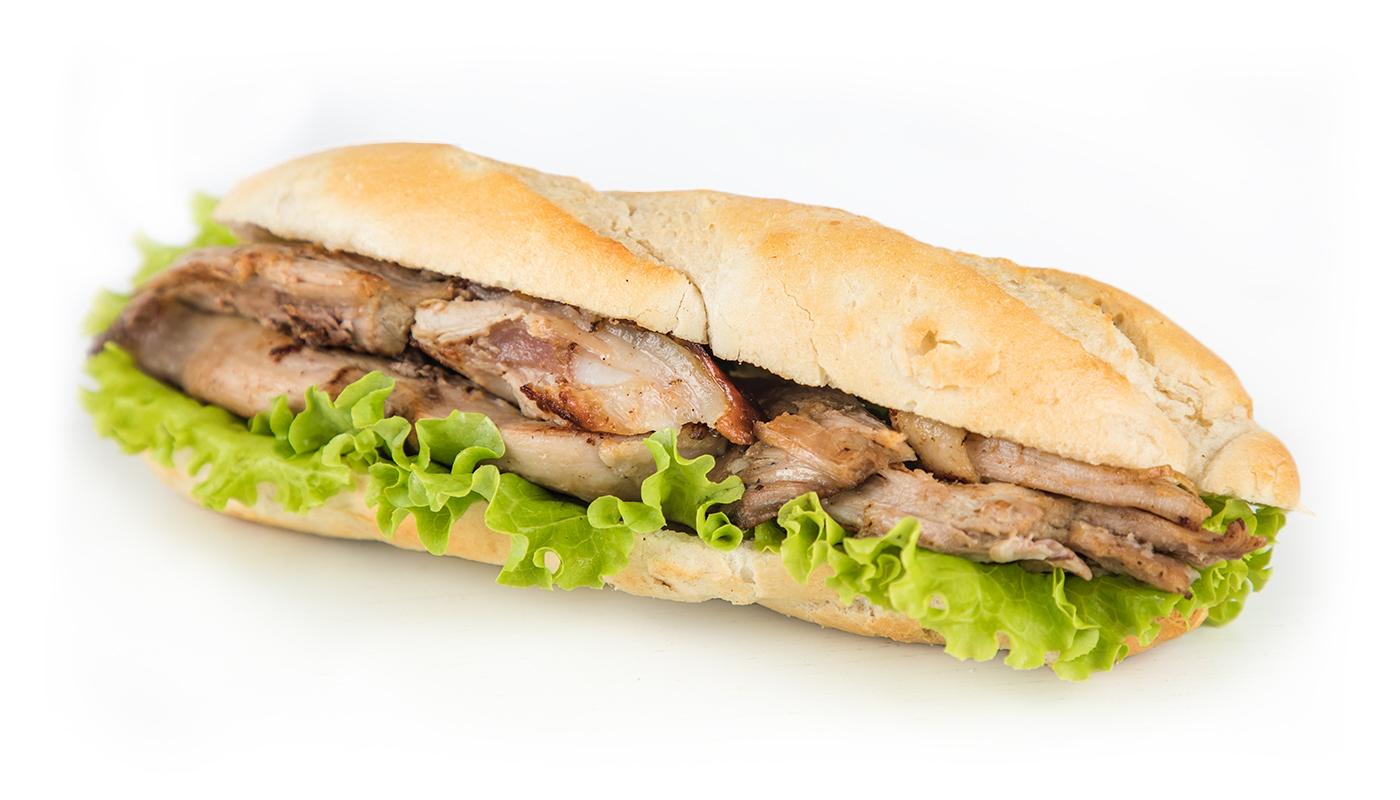 Sandwich Angola - Sandwich de Leitão