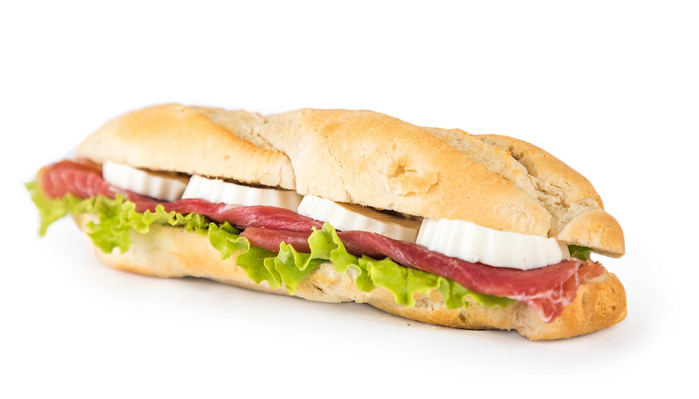 Sandwich Angola - Sandwich de presunto e queijo fresco