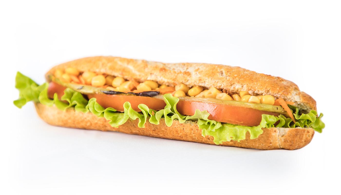 Sandwich Angola - Sandwich Vegetariana