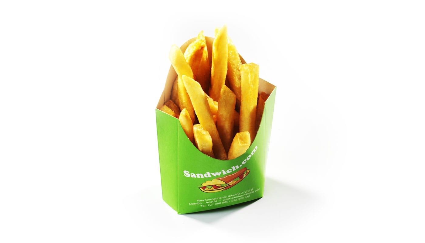 Sandwich Angola - Batatas fritas dose