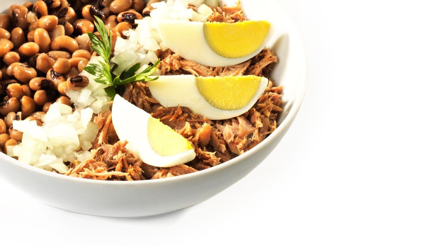 Sandwich Angola - Salada de feijão Frade