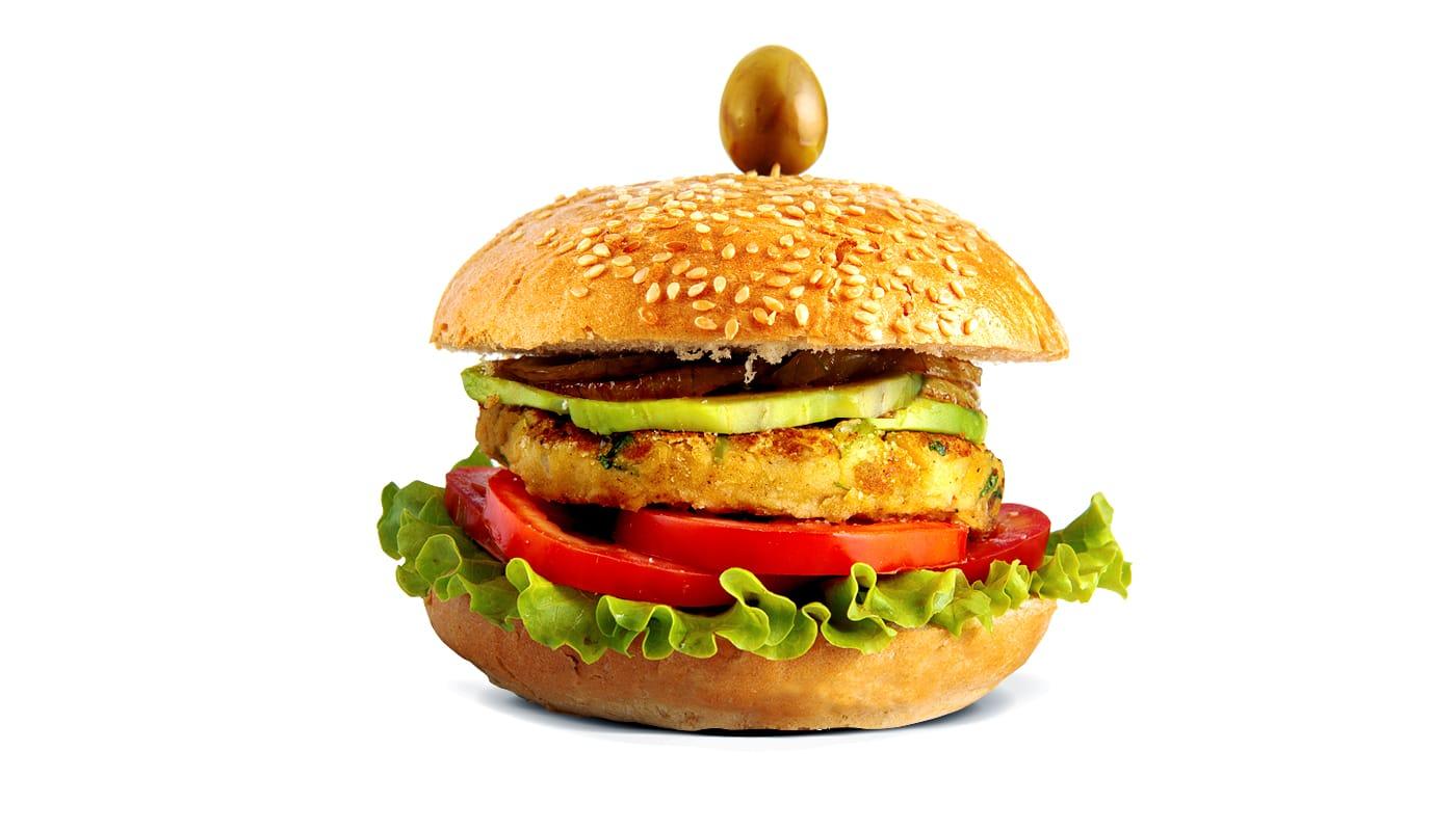 Sandwich Angola - Hambúrguer Vegetariano