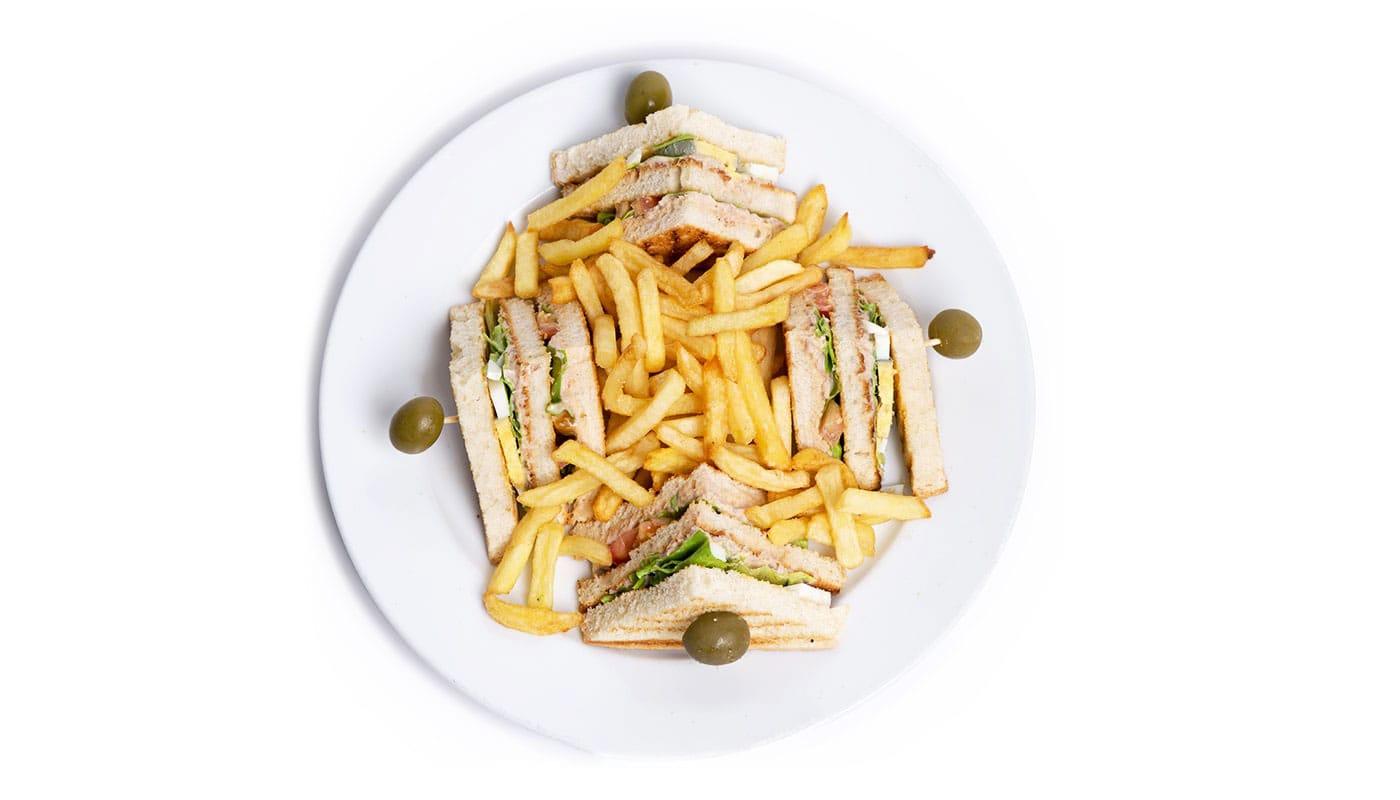 Sandwich Angola - Sandwich Tripla de Atum