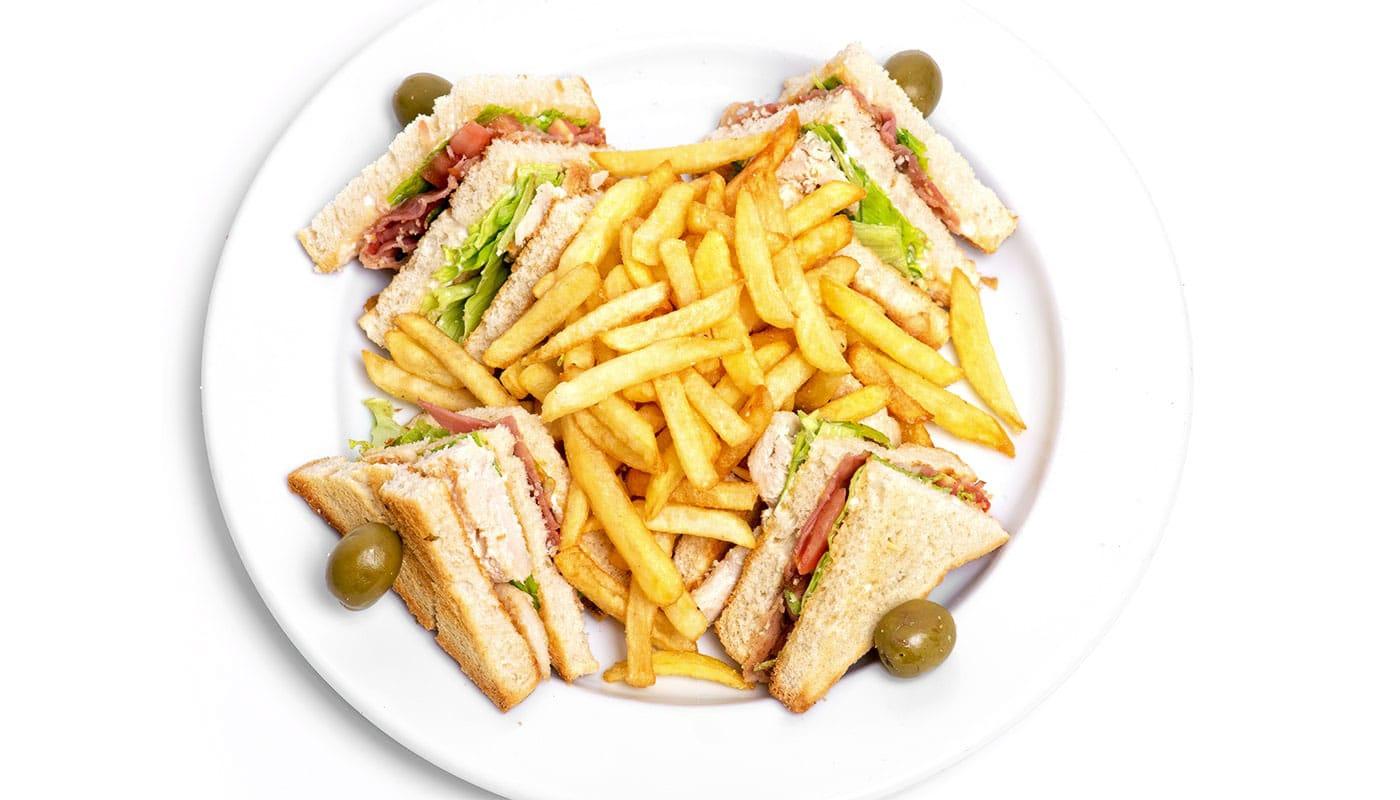 Sandwich Angola - Sandwich Tripla Club
