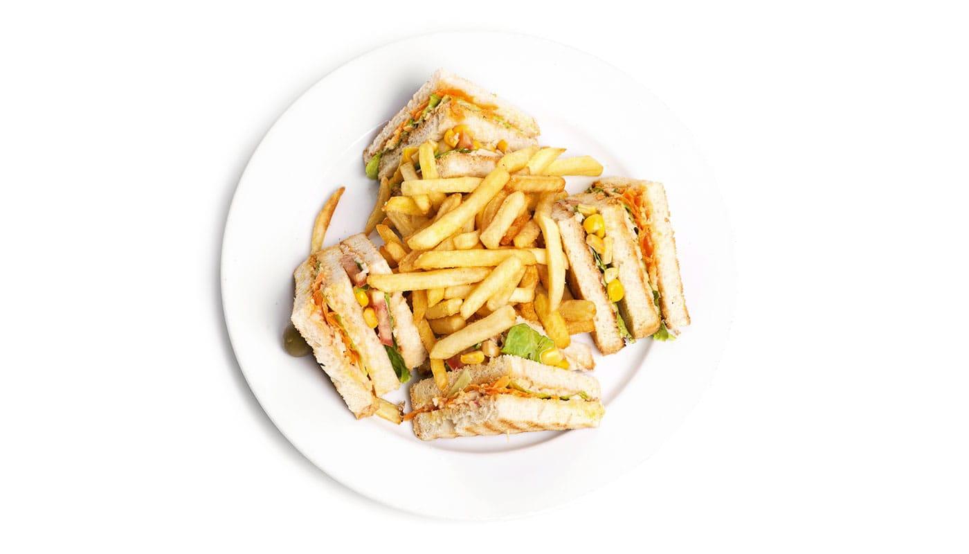 Sandwich Angola - Sandwich Tripla de Frango